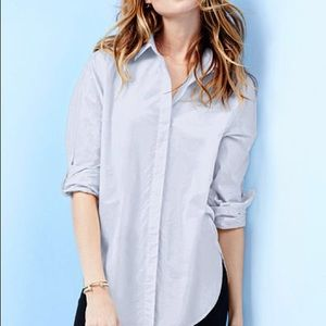 Victoria Secret Linen Boyfriend Shirt